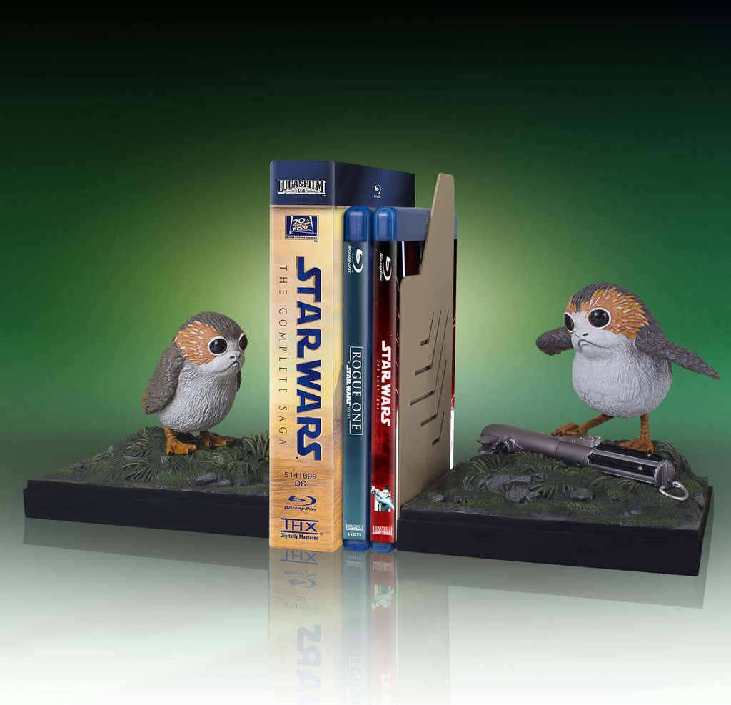 Porg Bookend Set