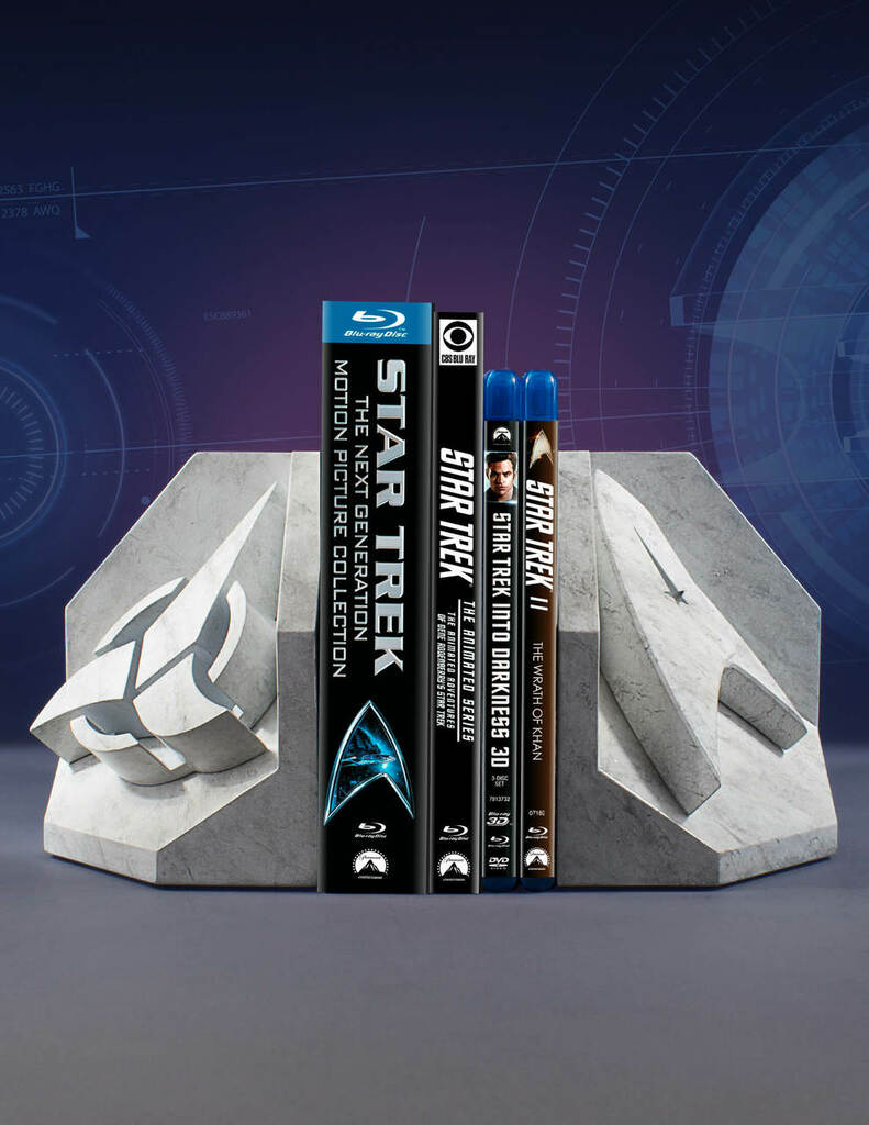 Star Trek (Starfleet) Faux Marble Bookend