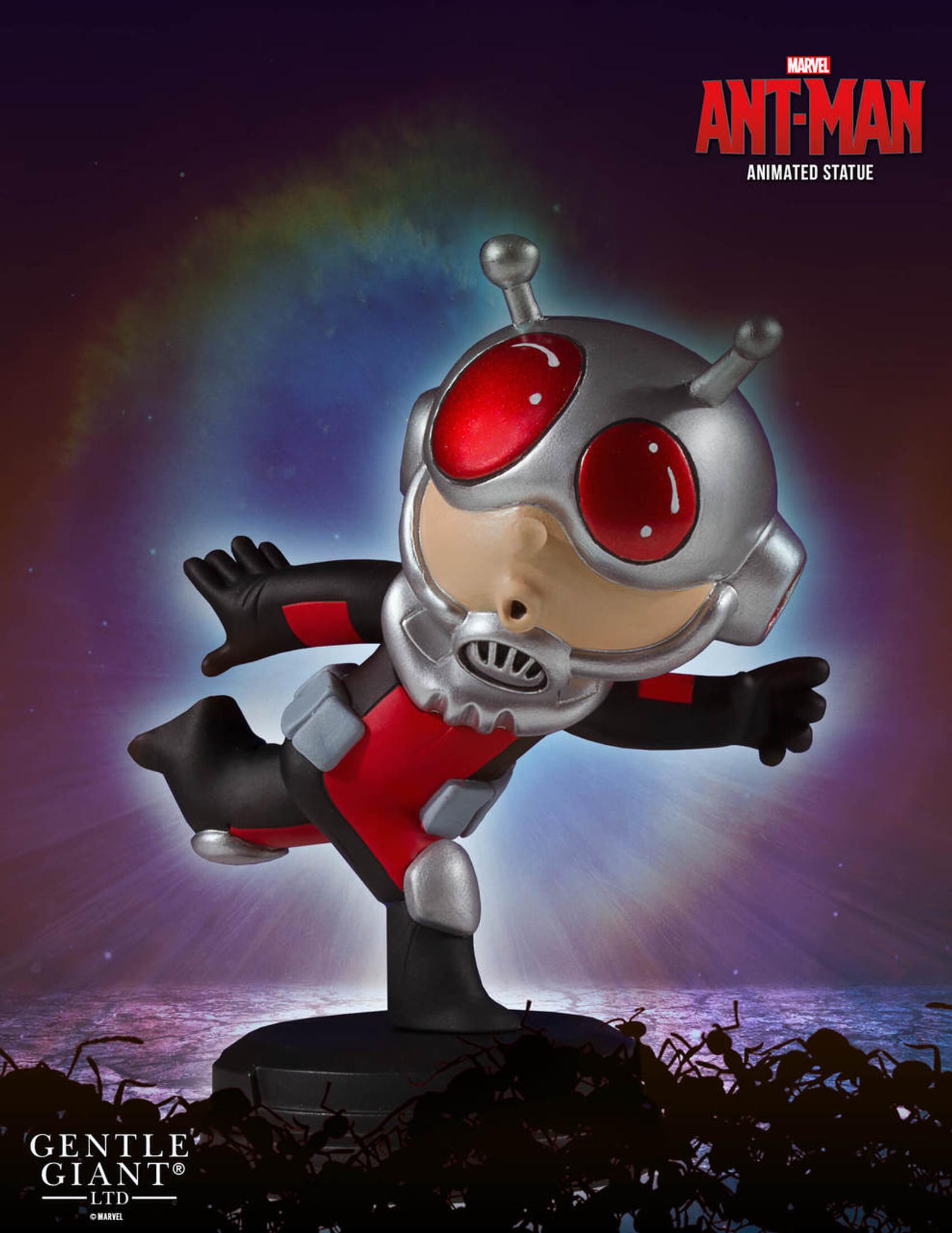 ant man marvel animated statue gentle giant ltd