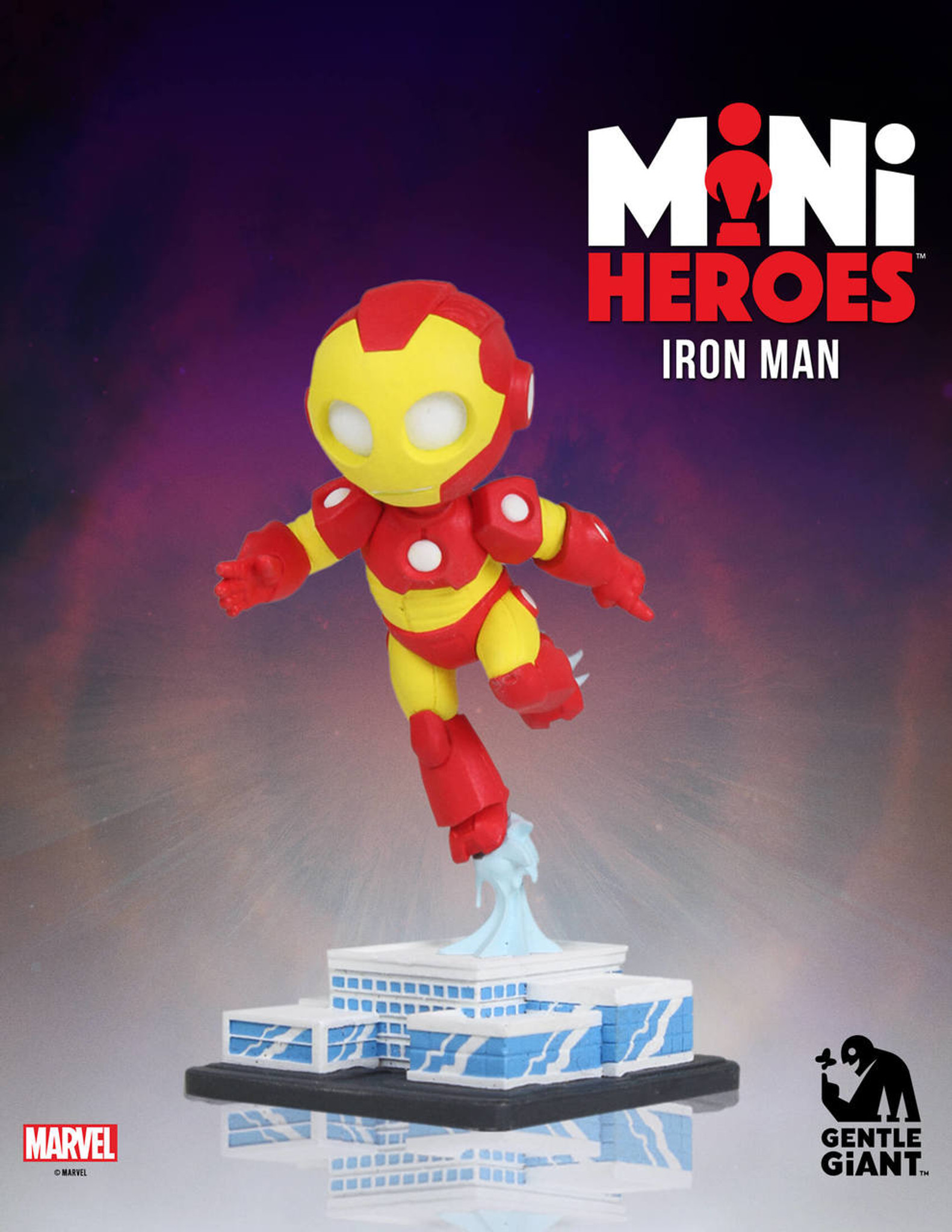 Iron man marvel mini heroes gentle giant ltd - Mini iron man ...