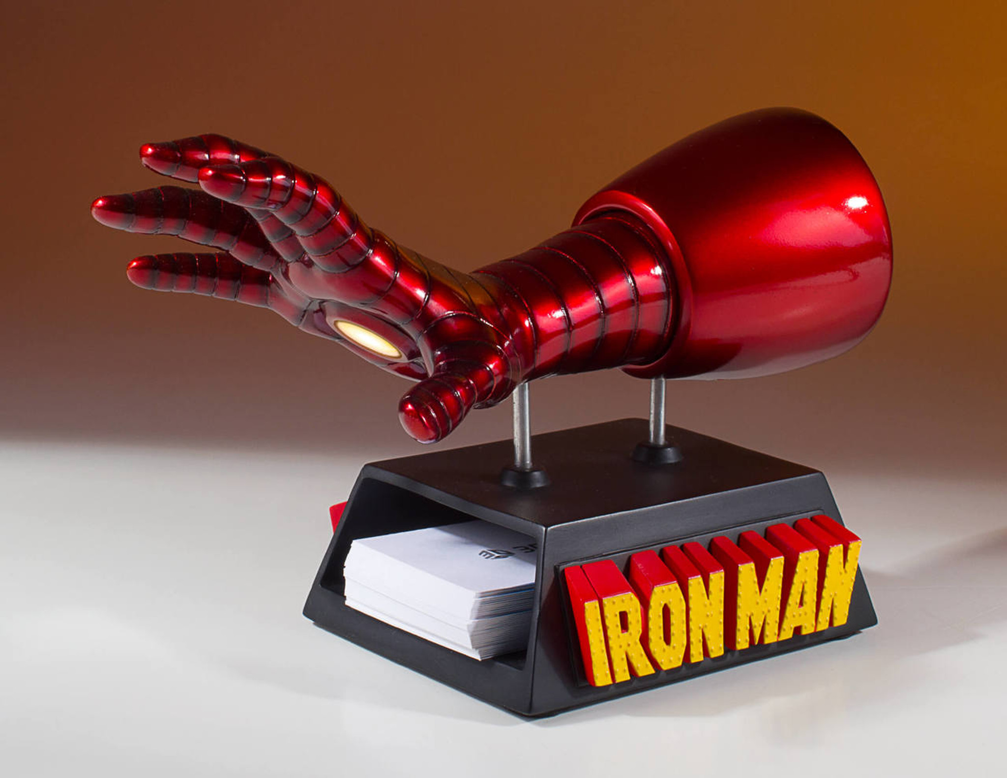 Iron Man Business Card Holder Desk Accessory - Gentle Giant Ltd