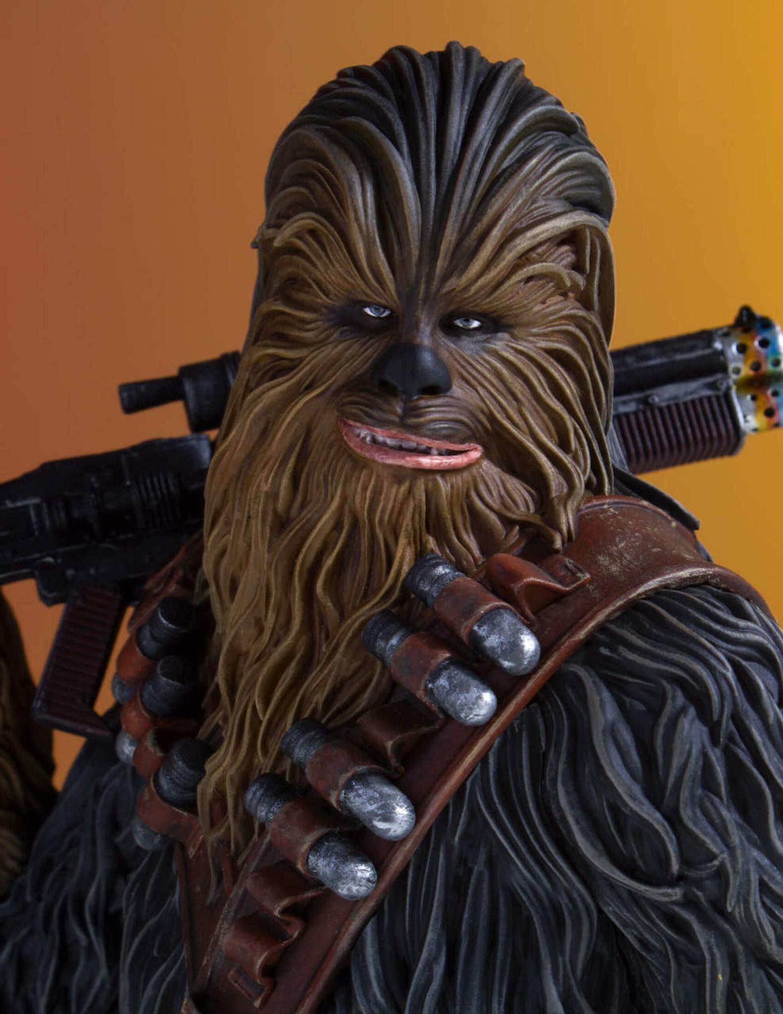 chewbacca solo a star wars story mini bust gentle giant ltd