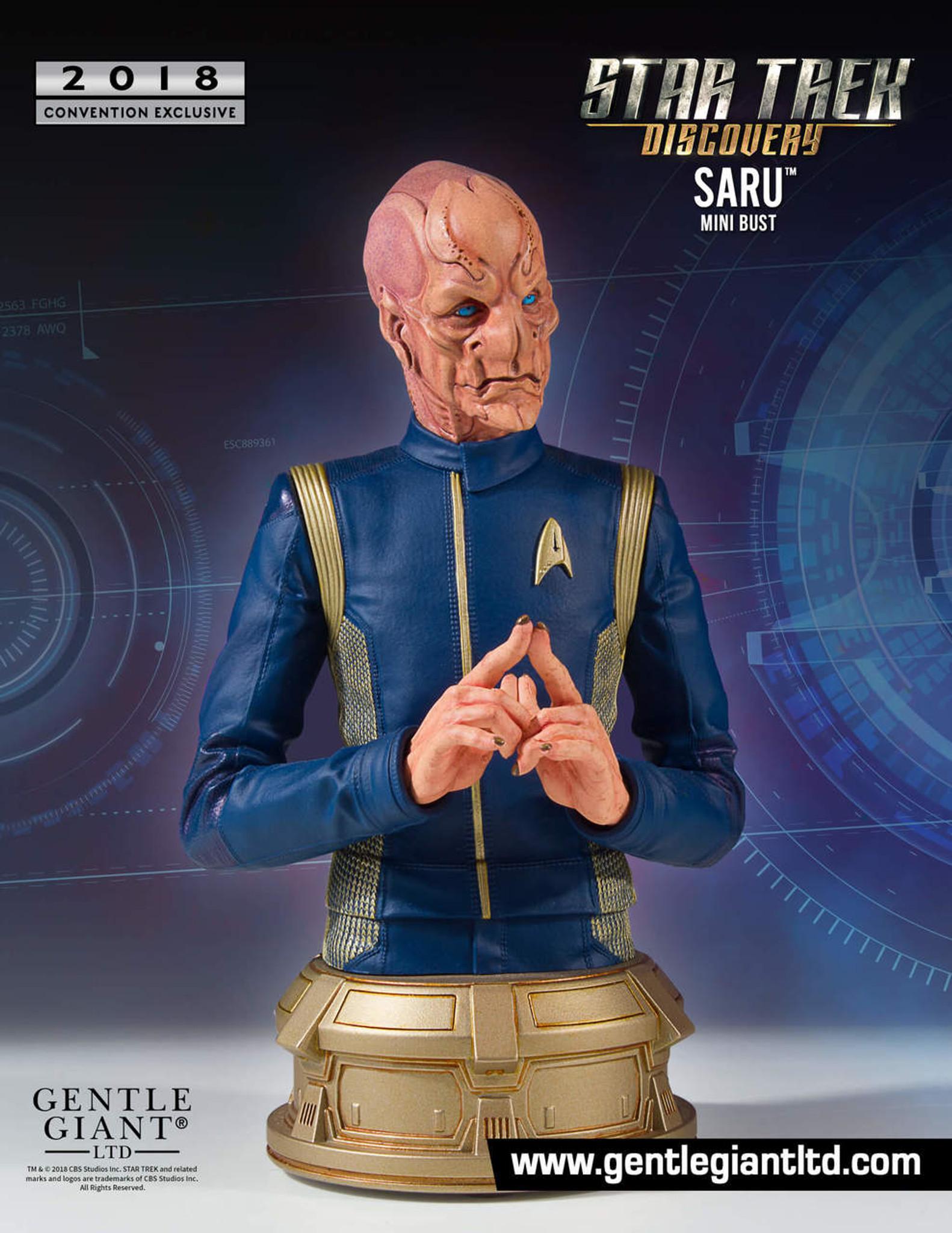 Lt Saru Star Trek Discovery Mini Bust