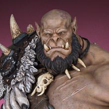 Warcraft Orgrim Statue