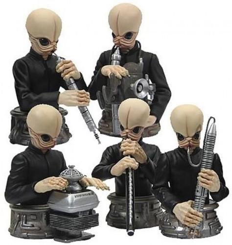 Star Wars Cantina Band Bust-Ups Box Set Thumbnail 4