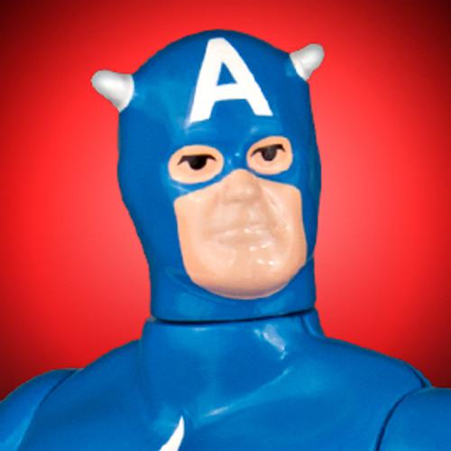 Captain America Secret Wars Jumbo Figure