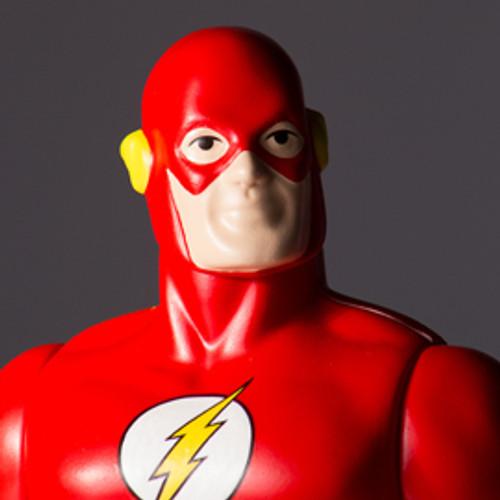 Flash Jumbo Figure Super Powers Collection