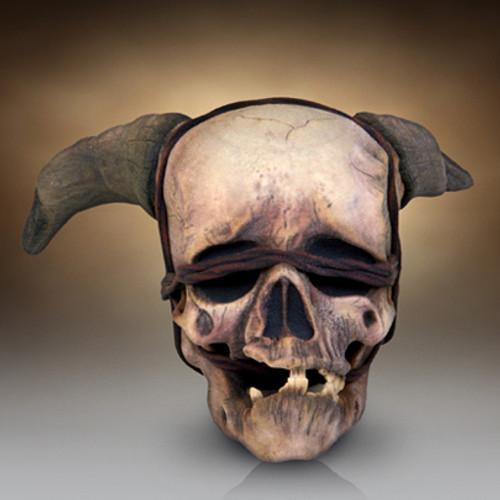 Warcraft Gul'Dan Skull Scale Replica 3D Print Thumbnail