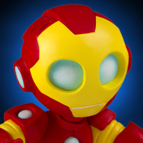 Animated Iron Man Statue