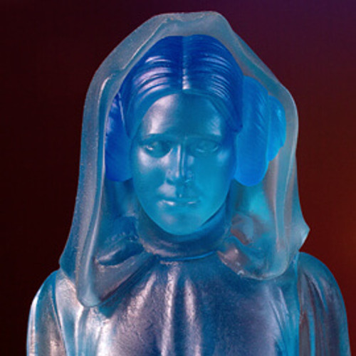 Holographic Princess Leia Collectors Gallery Statue - SDCC 2017 Exclusive Thumbnail