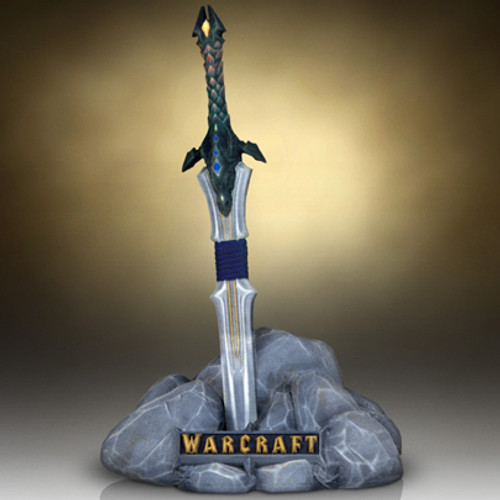 Warcraft Lothars Sword Scale Replica 3D Print Thumbnail