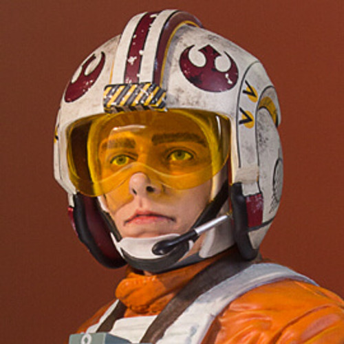 Luke Skywalker (X-Wing Pilot) Star Wars 40th Anniversary Classic Mini Bust - 2017 Convention Exclusive