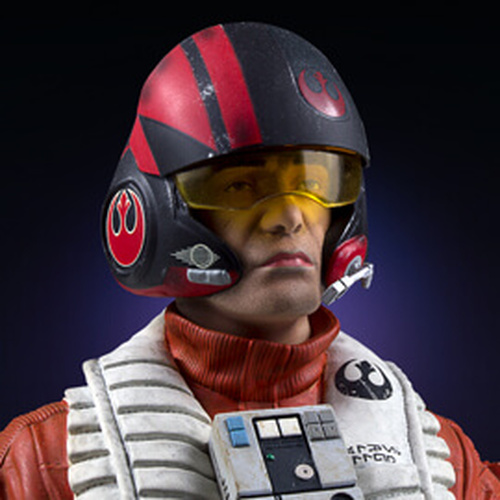 Poe Dameron TFA X-Wing Pilot Classic Mini Bust - PGM Exclusive