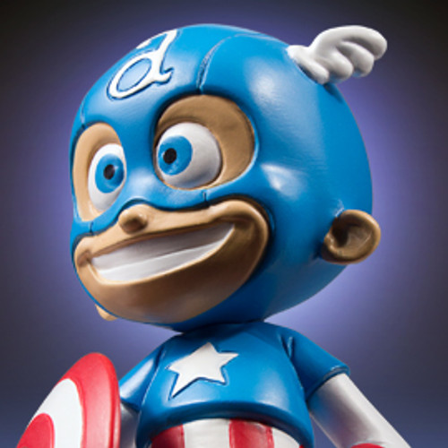 Animated Captain America