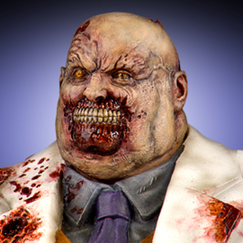 Marvel Zombie Kingpin Bust