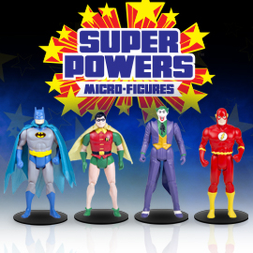 Dc Super Powers Series 1 Assorted Micro Figures