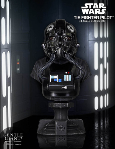 Tie Fighter Pilot Classic Mini Bust - PGM Exclusive