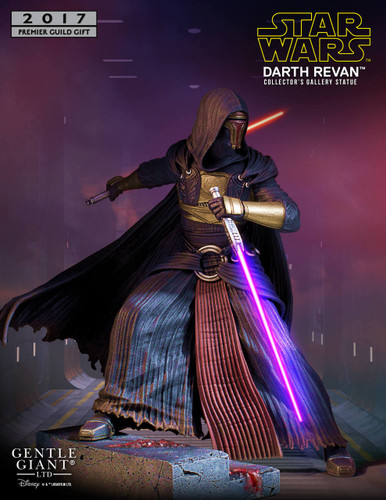 2017 PGM Gift - Darth Revan Collector's Gallery Statue