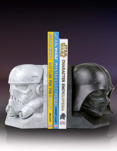 Star Wars Stonework Faux Marble Bookend Bundle