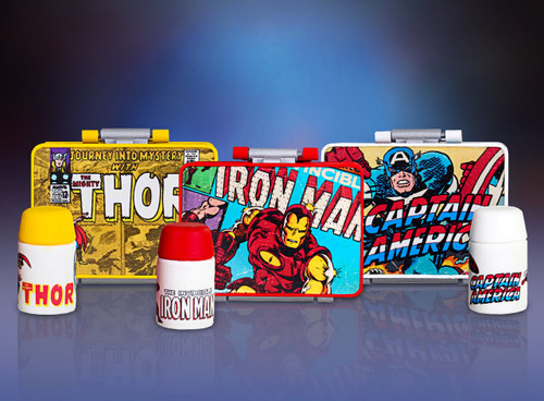 Marvel - Tiny Tin Pocket Pails - 18 Pack