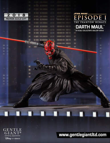 PGM 2018 Gift - Darth Maul Collector's Gallery Statue