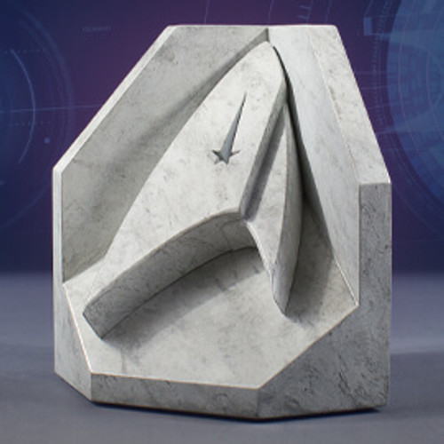 Star Trek (Starfleet) Faux Marble Bookend