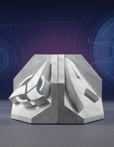 Star Trek Faux Marble Bookend Bundle
