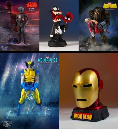 5 Awesome New Collectibles Solicited for April 2018 for Pre-Order