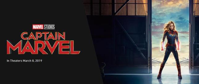 New Captain Marvel Trailer Released