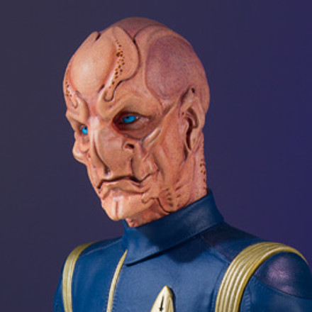 San Diego Comic Con Exclusive Announcement #2 -  Lt. Saru Star Trek: Discovery Mini Bust