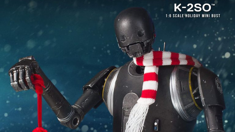 K-2SO Announced as the Gentle Giant Ltd. Deluxe Holiday Mini Bust. Up For Pre-Order NOW!