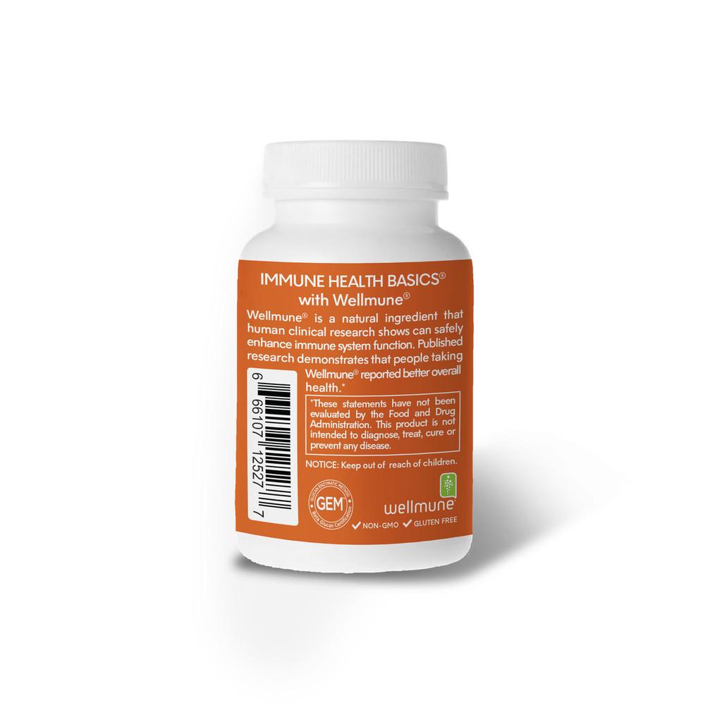 Immune Health Basics 125mg /60 capsules