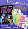 Regular Show Fluxx - Crazy Combo Pack! The Card Game + 8 Promo Cards!
