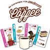 Looney Labs - Just Desserts COMBO with Just Coffee and Better with Bacon!
