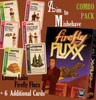 """Looney Labs - Firefly Fluxx """"Aim to Misbehave"""" Combo -  Card Game + 6 More Cards!"""