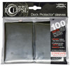 Ultra Pro ECLIPSE 2.0 PRO-Matte Deck Protector - Std Size Non-Glare Card Sleeves - 100 Count - JET BLACK
