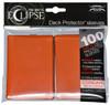 Ultra Pro ECLIPSE 2.0 PRO-Matte Deck Protector - Std Size Non-Glare Card Sleeves - 100 Count - PUMPKIN ORANGE
