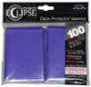 Ultra Pro ECLIPSE 2.0 PRO-Matte Deck Protector - Std Size Non-Glare Card Sleeves - 100 Count - ROYAL PURPLE