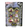 HeroClix -  Marvel X-MEN Xavier's School (Time Displaced) - Dice & Token Pack - WizKids