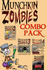 Munchkin Zombies COMBO PACK - Base Game + 4 expansion packs!