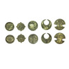 "Norse Foundry - Adventure Coins - Variety Pack  (Set of 10) ""Elven Gold"""