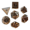 Norse Foundry - Chainmail Silver - 16-22mm RPG Polyhedral Dice  (Set of 7)