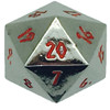 Norse Foundry - Nightmare Black - 1 x 25mm D20 Countdown Dice