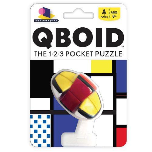 QBoid -  Handheld Twisty puzzle - BrainWright Games
