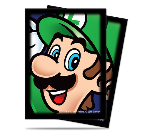 Ultra Pro Deck Protector  - Std Size Sleeves - 65 Count - Mario Bros. - Luigi