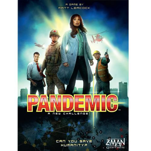 Pandemic - The Co-Operative Board Game - Z-Man Games