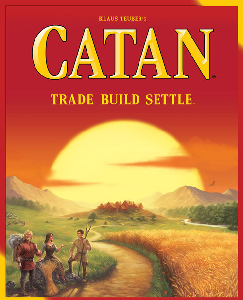 The Settlers of CATAN - Original Board Game - Mayfair Games