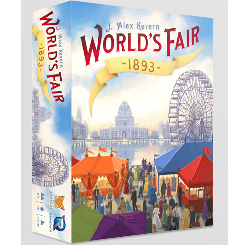 World's Fair 1893 - The Board Game - Renegade Games