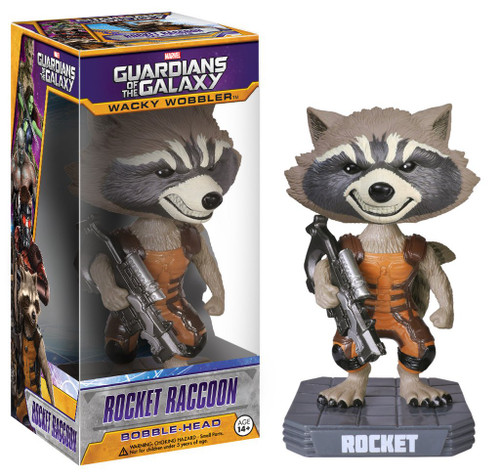 Wacky Wobbler - Bobble-Head - Guardians of the Galaxy - Rocket