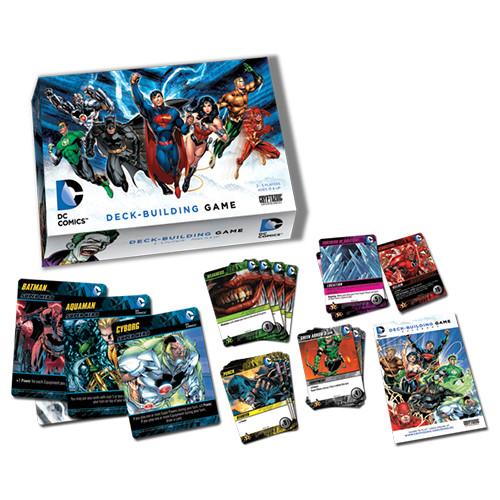 DC Comics Deck Building Game - Core Set - Cryptozoic Entertainment